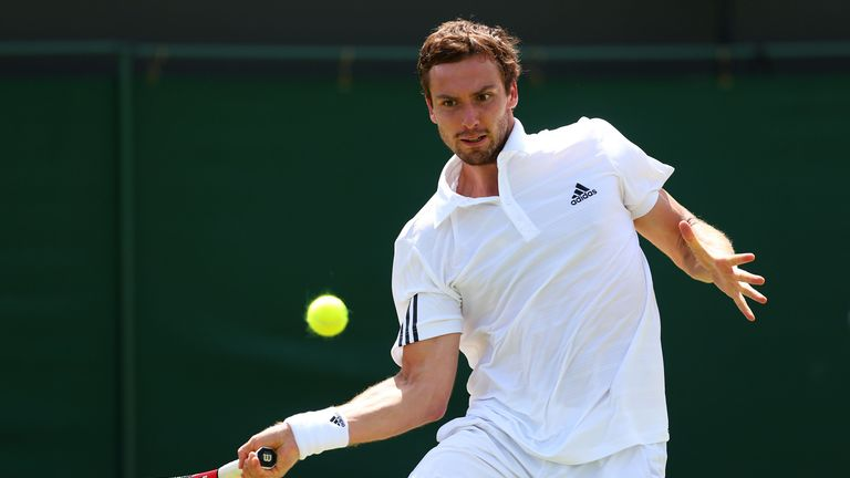 Ernests Gulbis lost in straight sets to Sergiy Stakhovsky on Wednesday