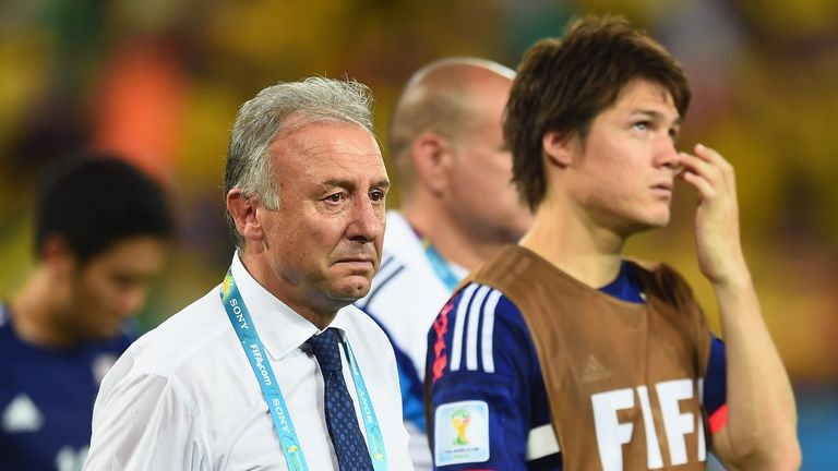 Alberto Zaccheroni: Emotional at final whistle