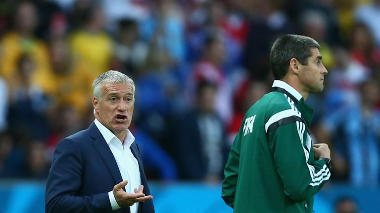 Didier Deschamps: Saw France set up Nigeria clash