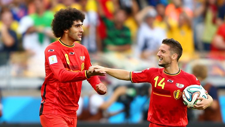 Marouane Fellaini and Dries Mertens: Provide a goal threat