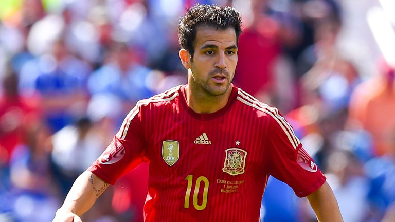Fabregas: Moved from Barcelona