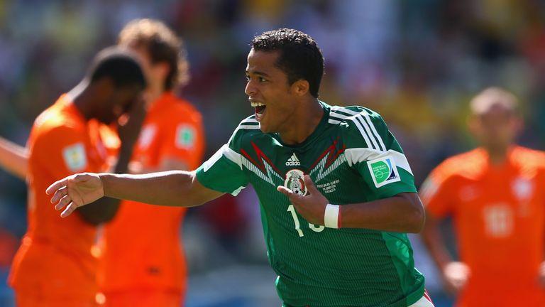Giovani dos Santos gave Mexico the lead
