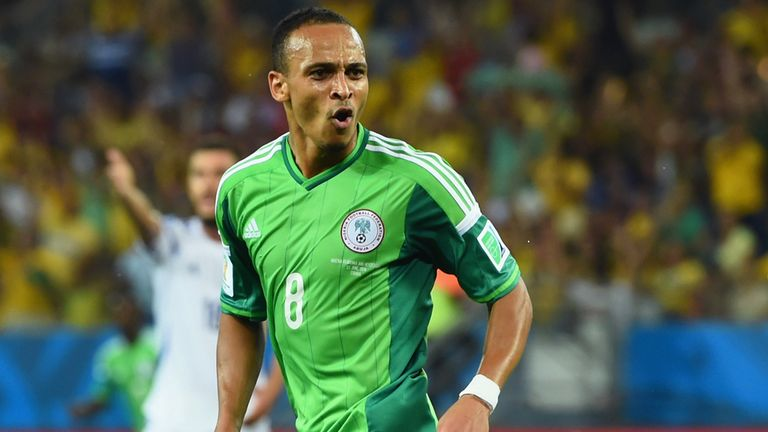 Peter Odemwingie: Desperate to start against Argentina