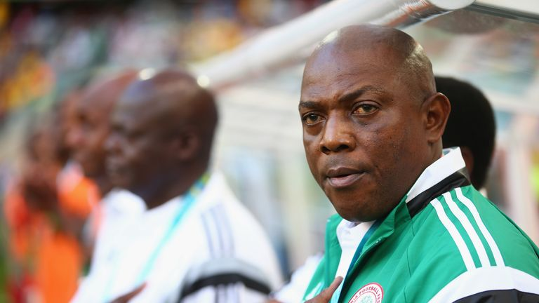 Stephen Keshi: Has called for supporter backing