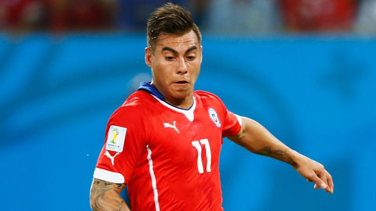Eduardo Vargas: Set for loan move