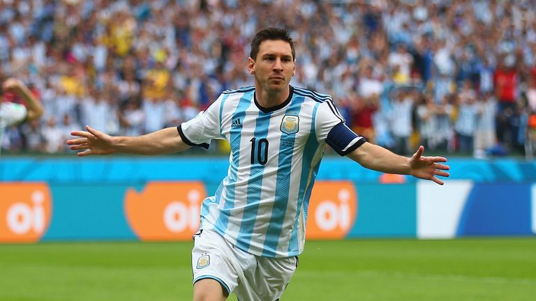 Lionel Messi: In top form as Argentina beat Nigeria 3-2 in Porto Alegre
