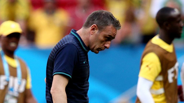 Paulo Bento: Saw his side go out