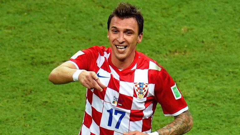 Mario Mandzukic: Scored twice for Croatia during World Cup finals