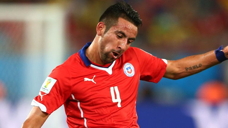 Mauricio Isla: Currently away on World Cup duty with Chile
