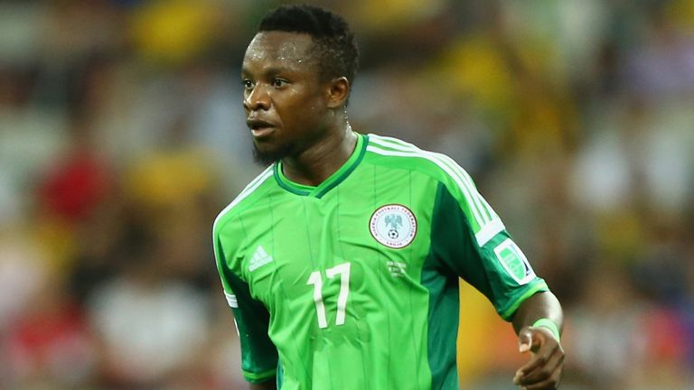 Ogenyi Onazi: Suffered injury playing for Nigeria