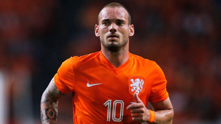 Wesley Sneijder: Set to stay at Galatasaray