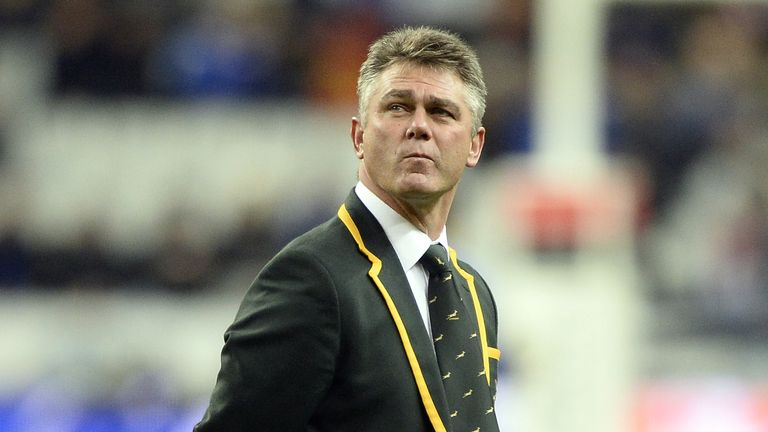 Heyneke Meyer: Pleased with some of South Africa's new combinations