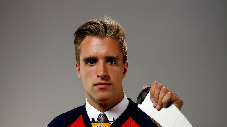 Aaron Ekblad: First draft pick by Florida Panthers