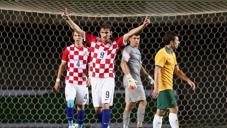 Nikica Jelavic: Aiming to spoil Brazil's party