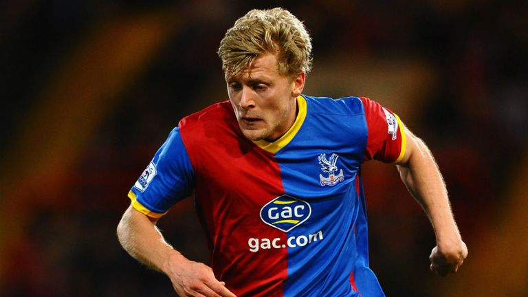 Jonathan Parr: Released by Crystal Palace