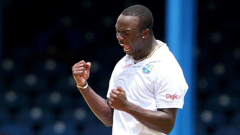 Kemar Roach: West Indies fast bowler claimed 4-61