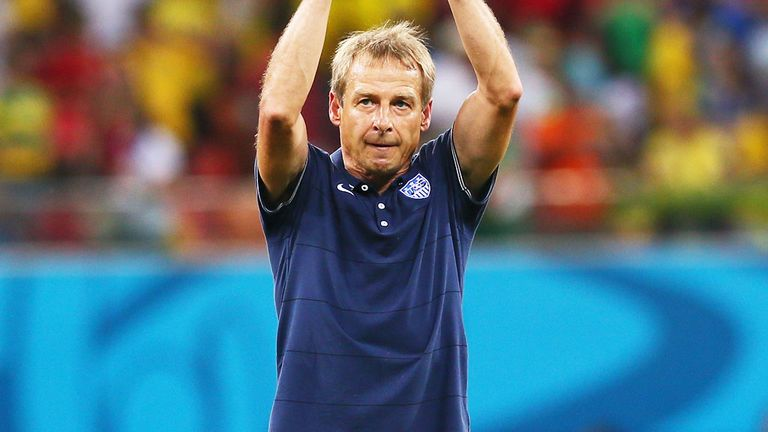 Jurgen Klinsmann: USA coach was happy with the effort of his team against Portugal