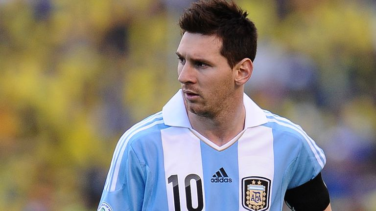 Lionel Messi: On target in Argentina win