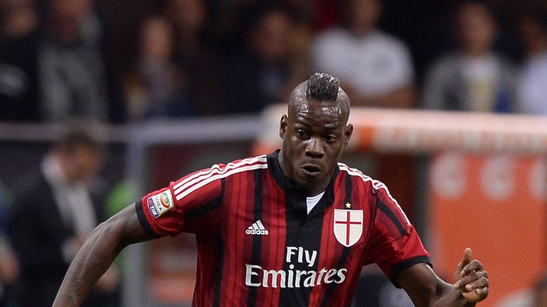 Mario Balotelli: Has three years left on AC Milan contract