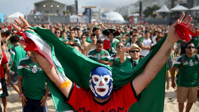 Mexico fans: Cleared of making homophobic chants