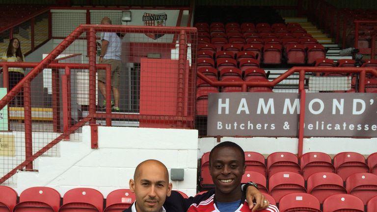 Brentford new boy Moses Odubajo