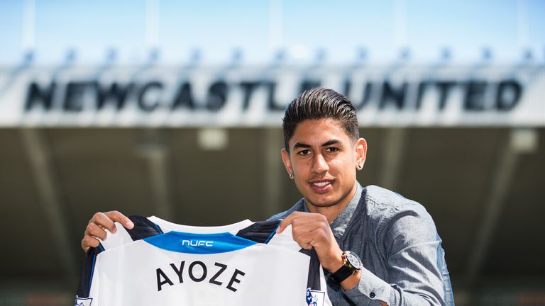 Ayoze Perez: Newcastle have signed young striker from Tenerife