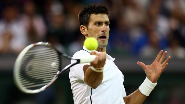Novak Djokovic: Straight sets win