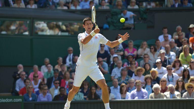 Novak Djokovic: Serb will take on Jo-Wilfried Tsonga in last 16