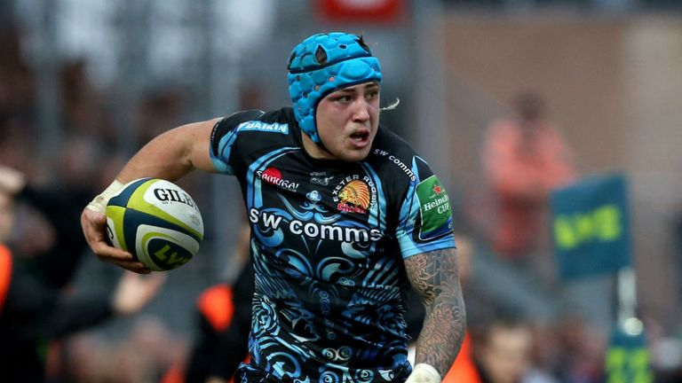 Jack Nowell: Has agreed terms on a new contract at Exeter