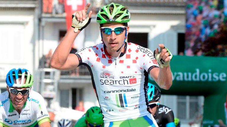 Peter Sagan claimed his ninth win at the Tour de Suisse