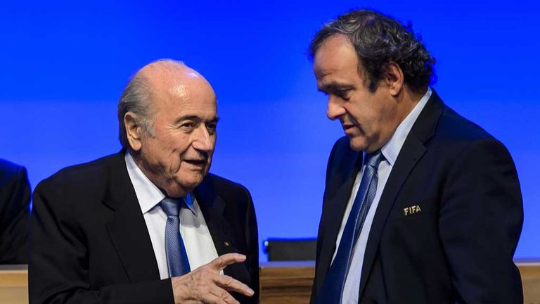 Sepp Blatter and Michel Platini: Football leaders meet in Brazil on Wednesday