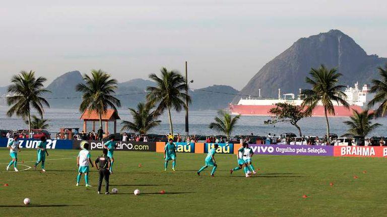 Urca Army Fort in Rio de Janeiro - England's training base