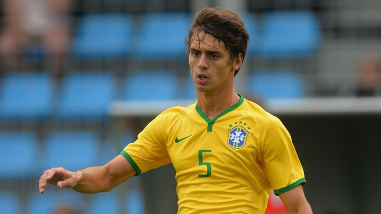 Rodrigo Caio: In no hurry to leave his native Brazil