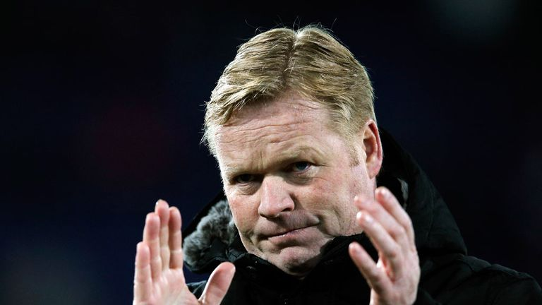 Ronald Koeman: Confirmed as Southampton boss on a three-year deal