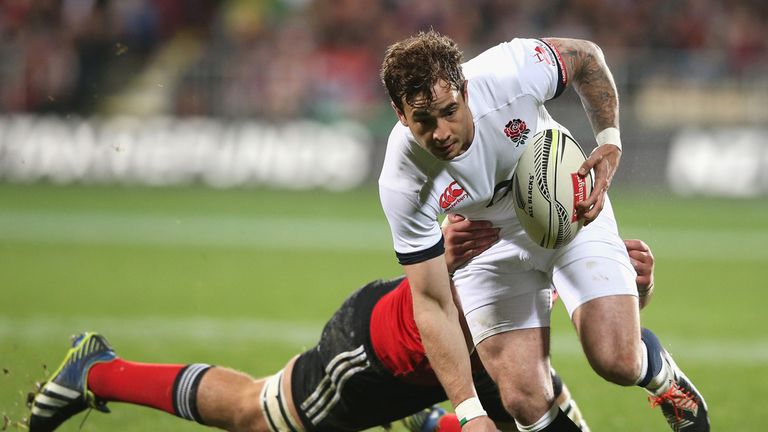 Danny Cipriani; Earned praise for his display in England's win over the Crusaders