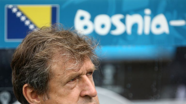 Safet Susic: Says Bosnia ended on a high note against Iran