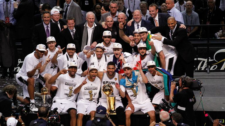 Success story: San Antonio Spurs