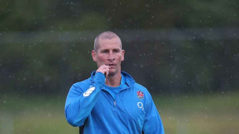 Stuart Lancaster: England head coach has made seven changes to his side to play New Zealand on Saturday