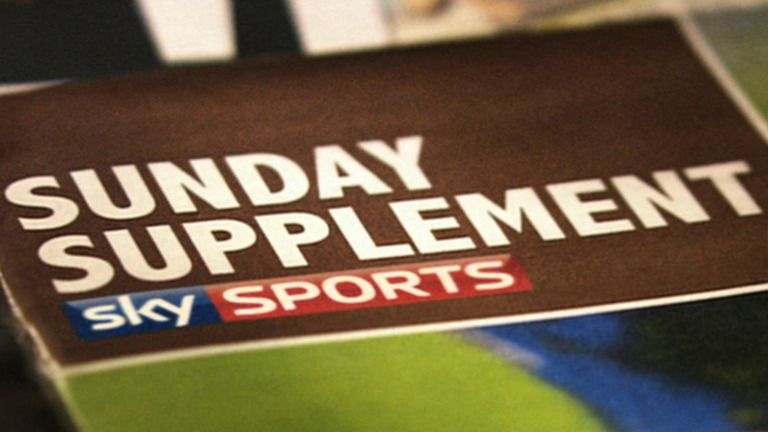 Tune in for Sunday Supplement from 9am on Sky Sports 1 HD this Sunday