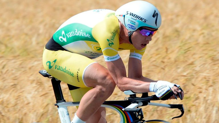 Tony Martin has now won both time trials at the Tour de Suisse