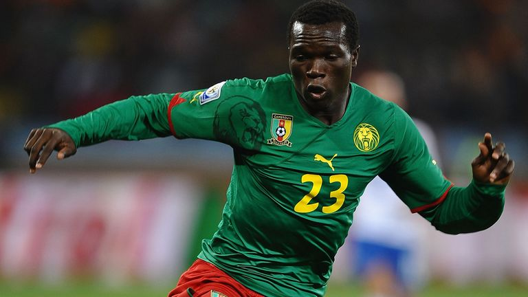 Vincent Aboubakar: The Cameroon international has signed for Portuguese giants FC Porto.