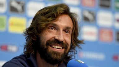 Andrea Pirlo: Happy to play on