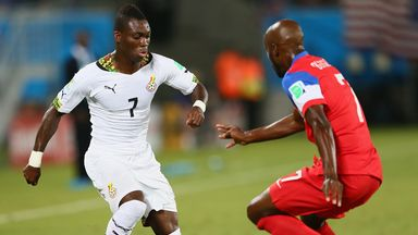 Christian Atsu: Performed on the World Cup stage for Ghana