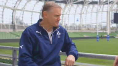 Ireland boss Joe Schmidt: Will have to do without Marty Moore in November