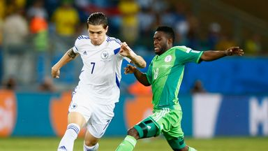 Muhamed Besic: Impressed at World Cup with Bosnia and Herzegovina