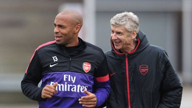 Arsene Wenger signed Thierry Henry for Arsenal from Juventus in 1999