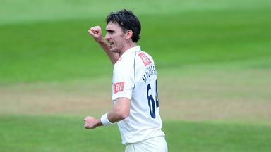 Steve Magoffin has been a regular wicket-taker for Sussex