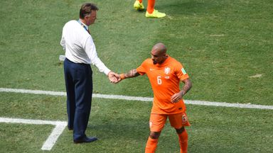 Louis van Gaal: Has impressed players such as Nigel de Jong with tactical changes
