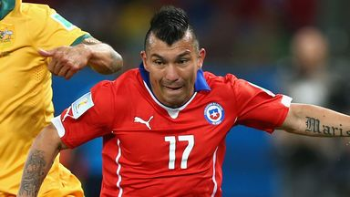 Gary Medel: Chile star preapring for new season with Inter Milan