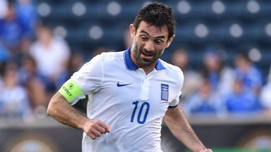Giorgos Karagounis: Won 143 caps for Greece